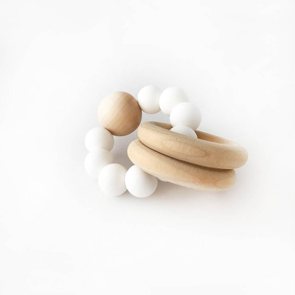 Otherware Jouet de dentition Burly Blanc