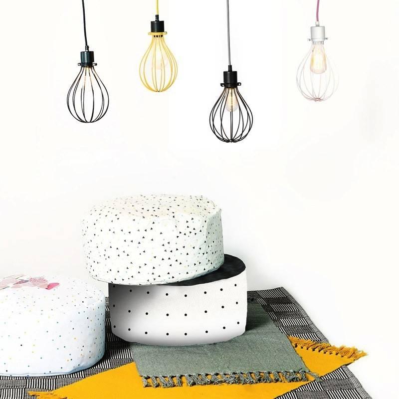 Gauthier Studio White Raindrop Lampshade
