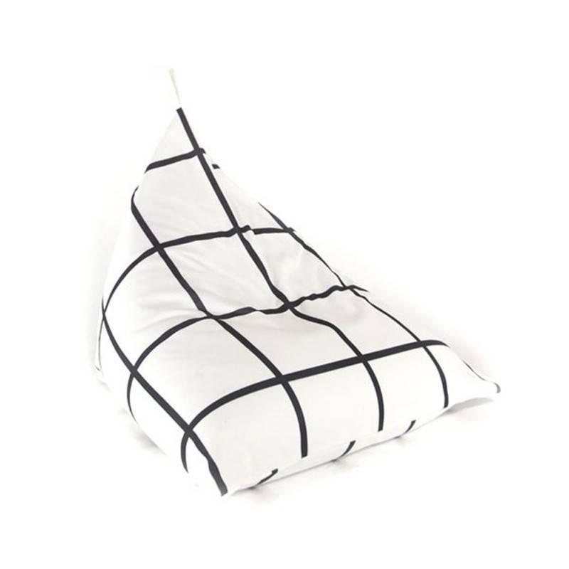 Gauthier Studio Fiesta Beanbag Black&White