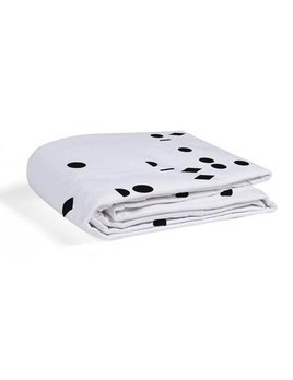 Gauthier Studio Polka Fitted Sheet Black Seeds