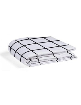 Gauthier Studio Polka Fitted Sheet Black&White