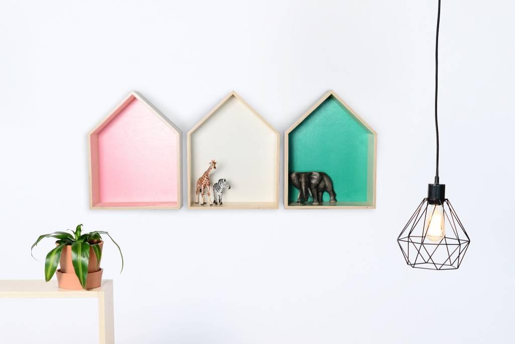 Gauthier Studio Étagère Maison Bois