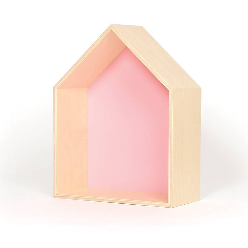 Gauthier Studio Pink House Shelf