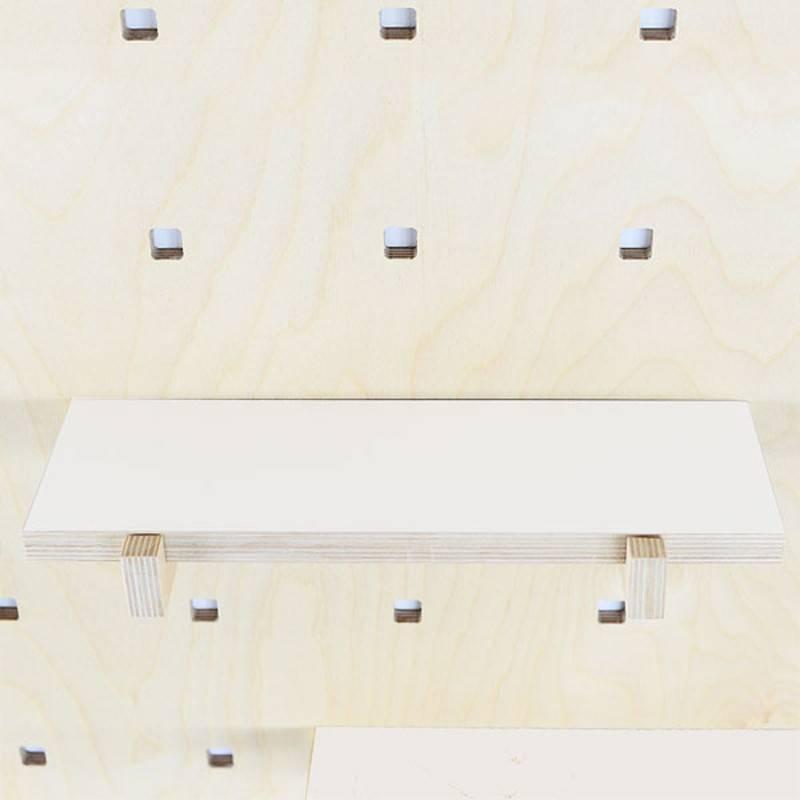 Gauthier Studio Carambina White Shelves