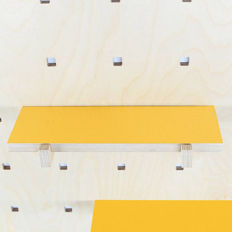 Gauthier Studio Carambina Yellow Shelves