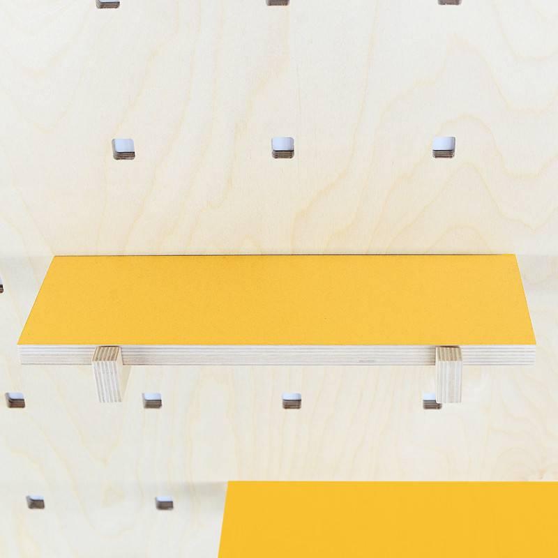 Gautier Studio Carambina Yellow Shelves