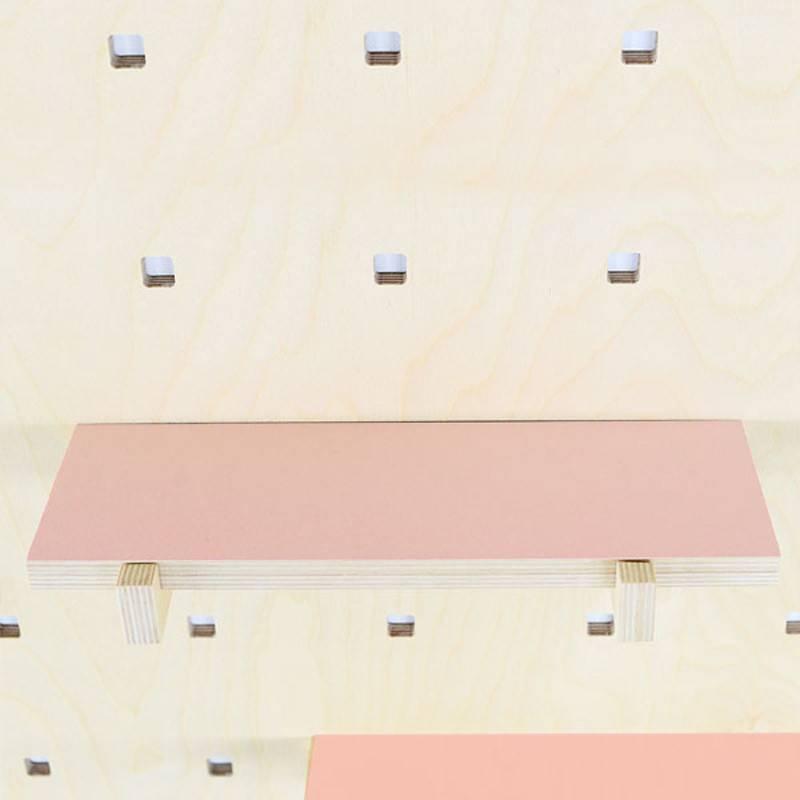 Gauthier Studio Carambina Pink Shelves