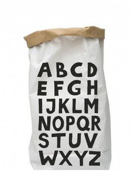 Tellkiddo ABC paper bag