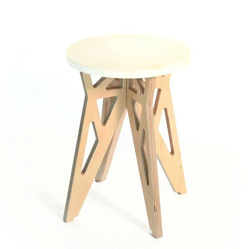 Gauthier Studio Color Stool