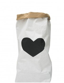 Tellkiddo Heart paper bag