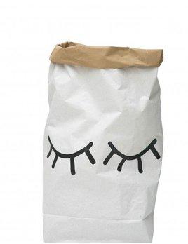 Tellkiddo Closed eye paper bag