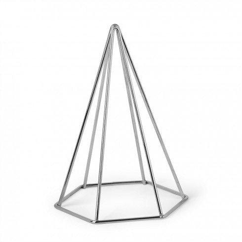 Umbra Soutien Photo Pyramide Argent