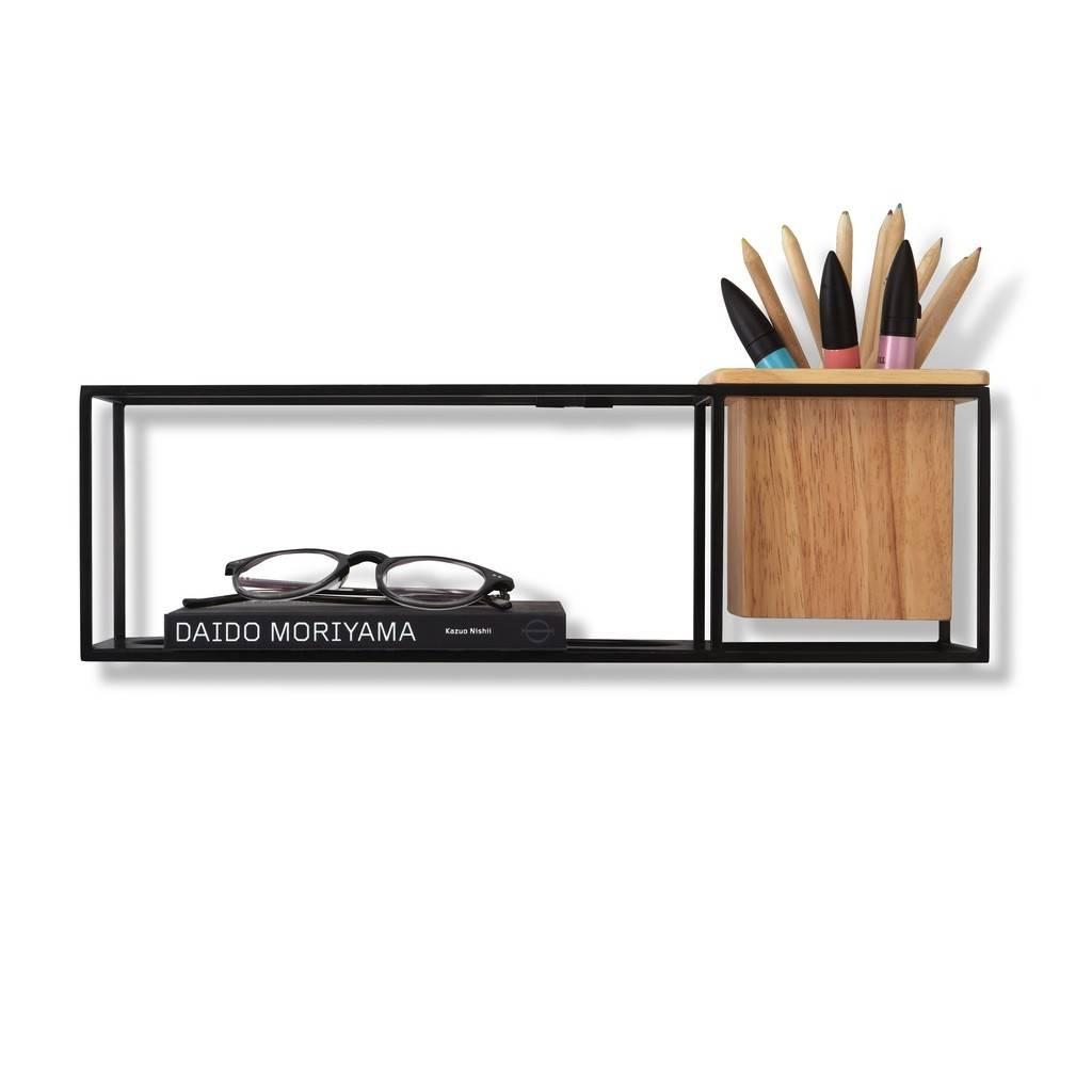 Umbra Cubist Black Shelf Display