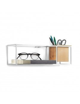 Umbra Cubist White Shelf Display