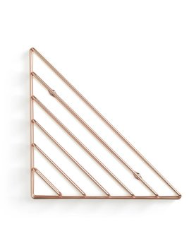Umbra Strum wall shelf Copper
