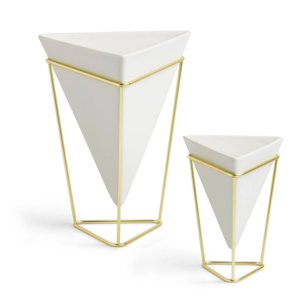 Umbra Set of 2 trigg vases
