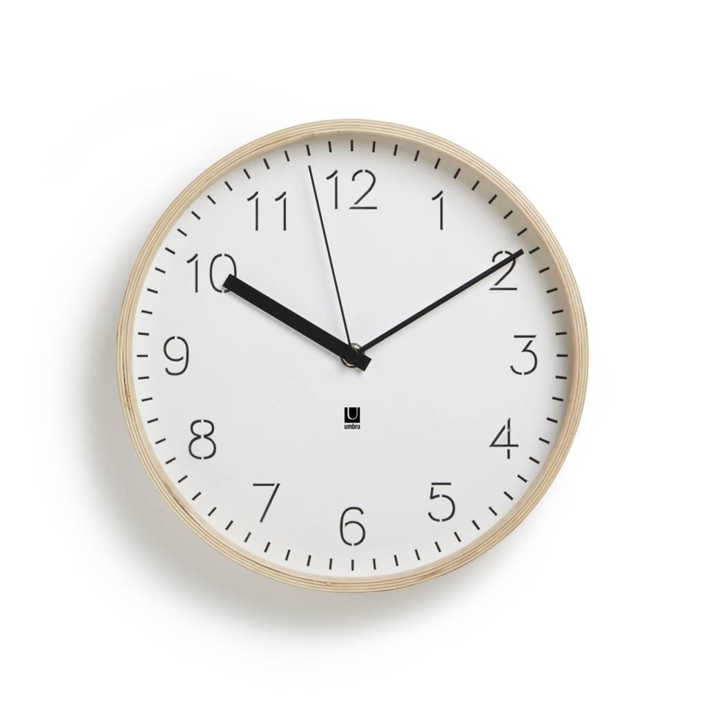 Umbra Rimwood Clock
