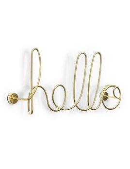Umbra Hello Wall Brass