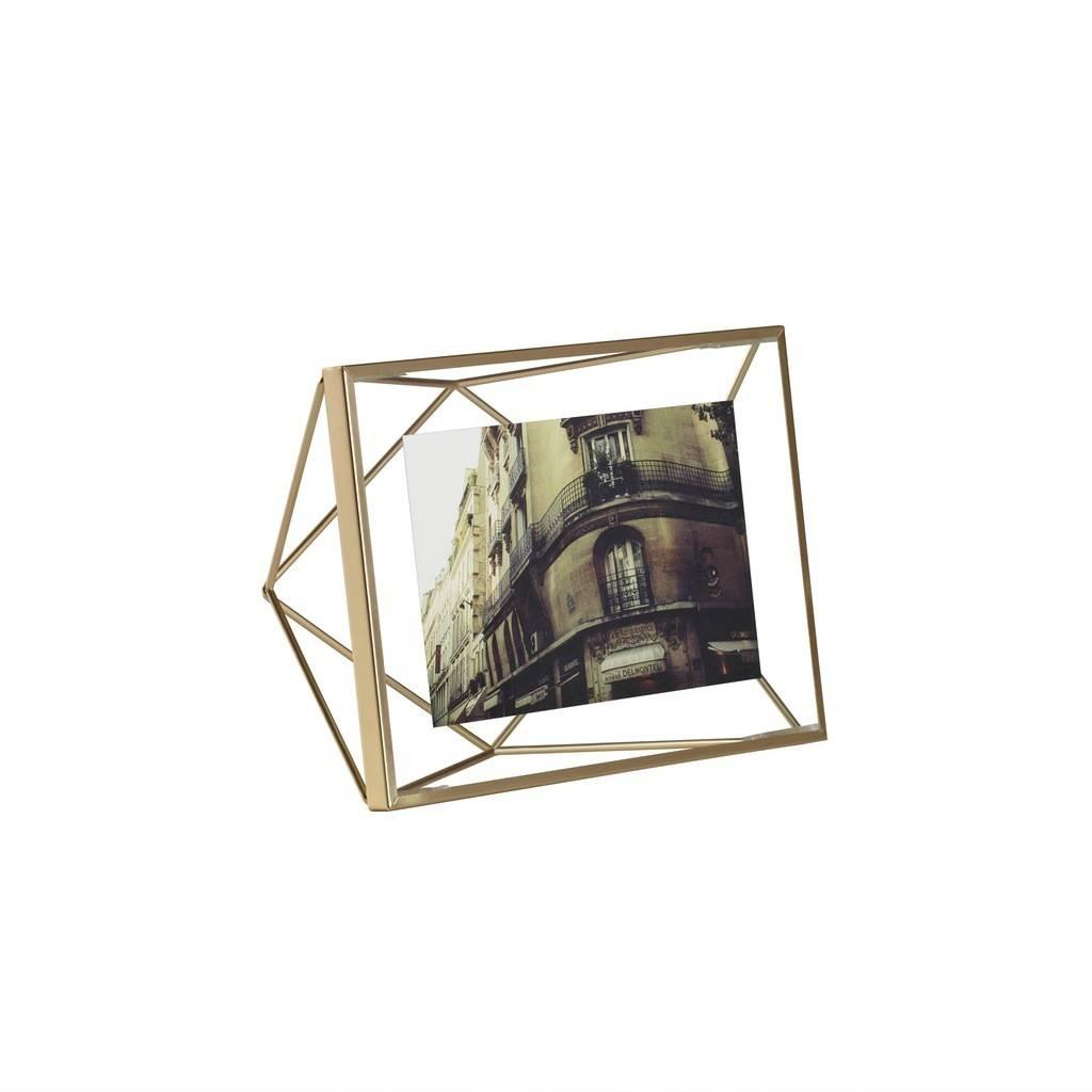 Umbra Cadre Prisme Laiton 4x6