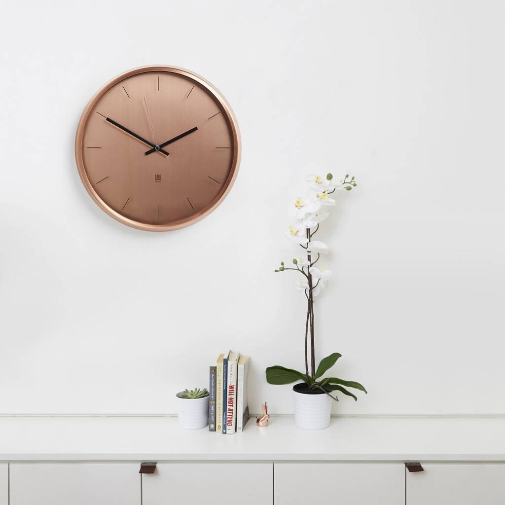 Umbra Copper Wall Clock