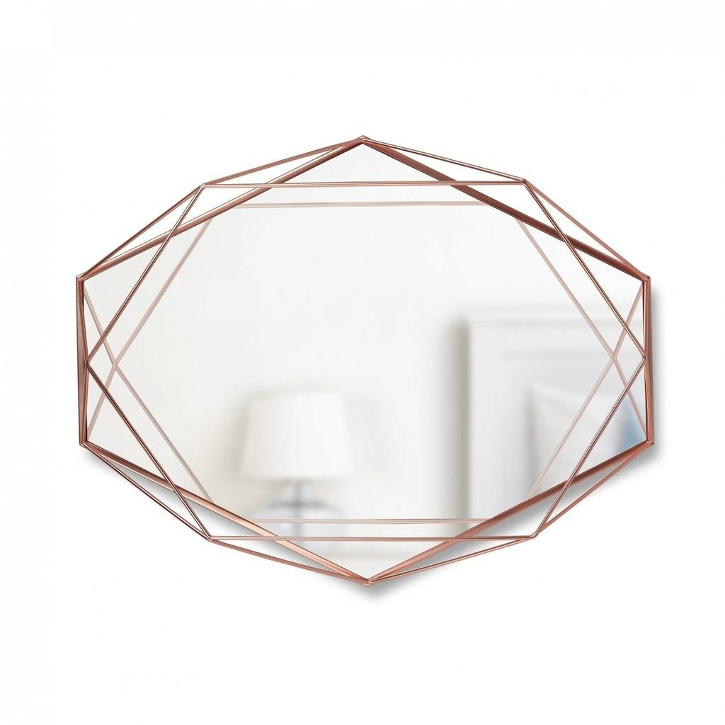Umbra Copper Prisma Mirror
