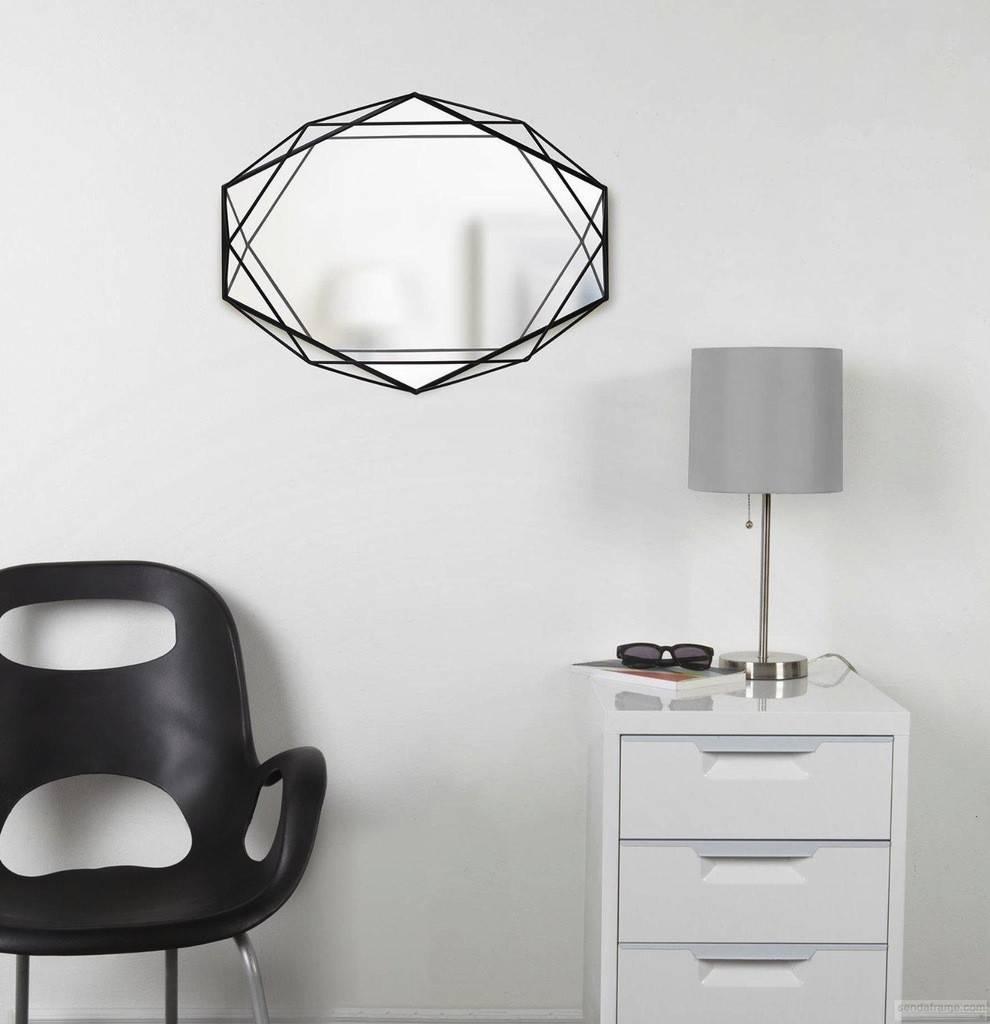 Umbra Black Prisma Mirror
