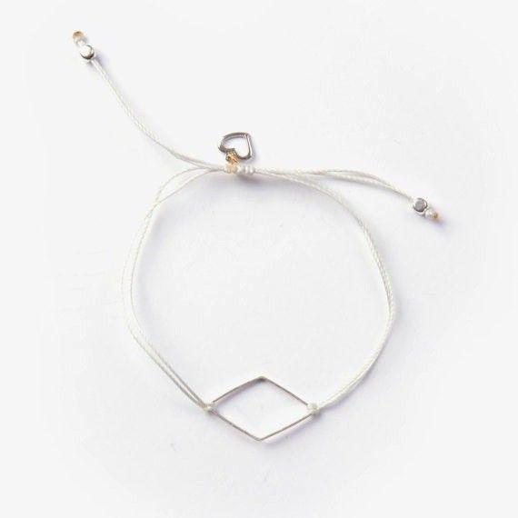 Si Simple Diamond Bracelet