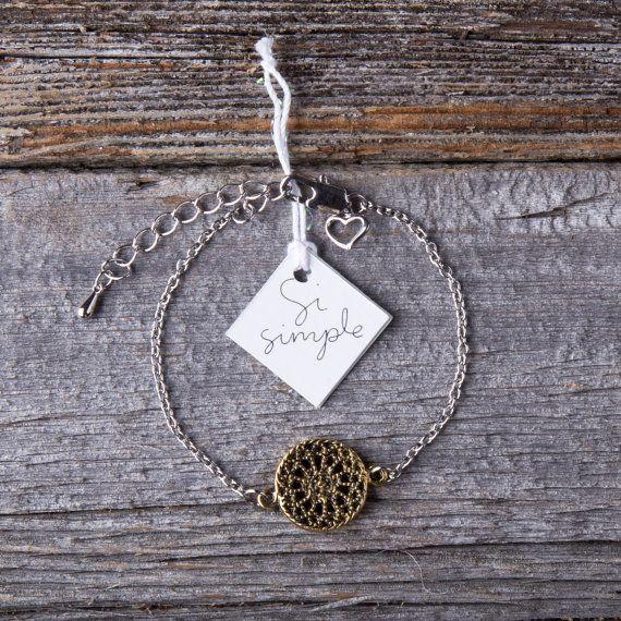 Si Simple Alaia Gold Bracelet