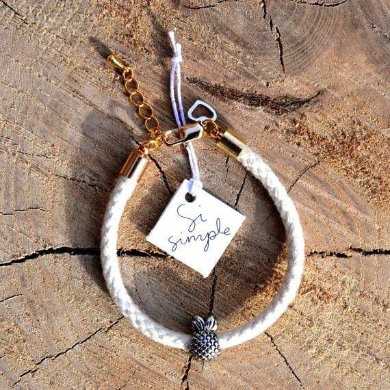 Si Simple Pineapple Bracelet