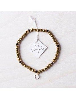 Si Simple Bracelet Goldie