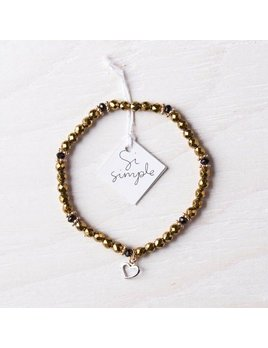 Si Simple Goldie Bracelet
