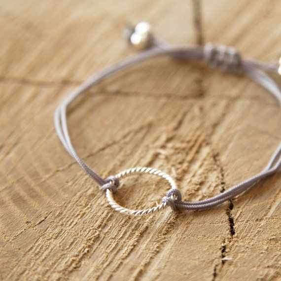 Si Simple Silver Grey Isabel Bracelet