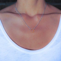 Si Simple Jackie Necklace