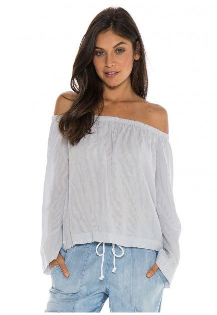 Bella Dahl Nohemy White Shirt