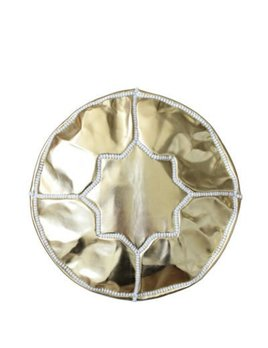 Small Morrocan Gold Pouf