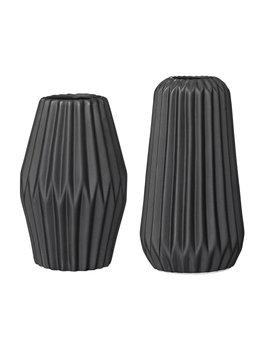 Bloomingville Vase Flûte Noir