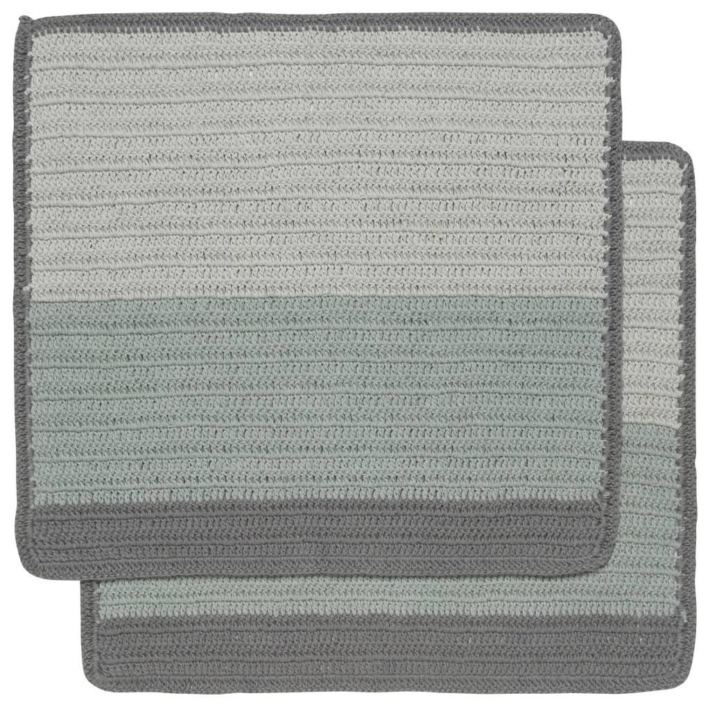 Danica/Now Sasha crochet dishtowels