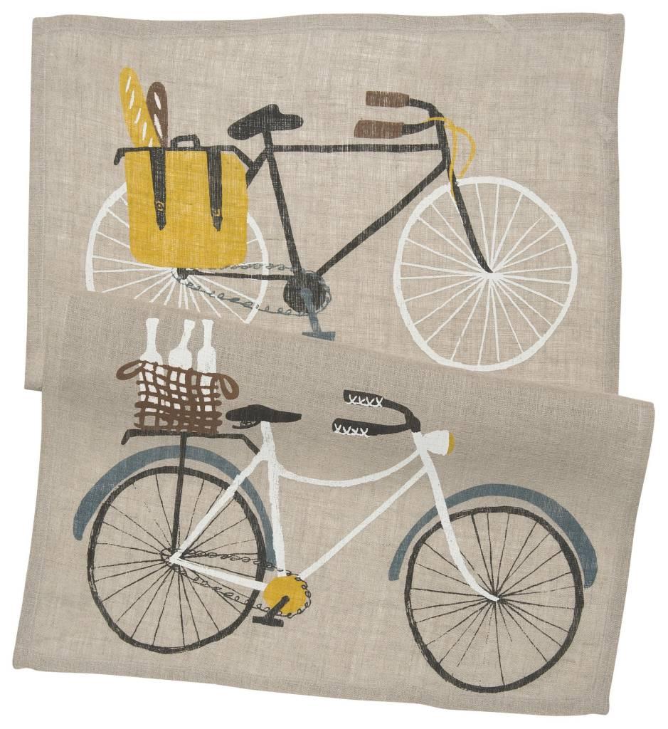 Danica/Now Bicicletta Linen Dishtowel