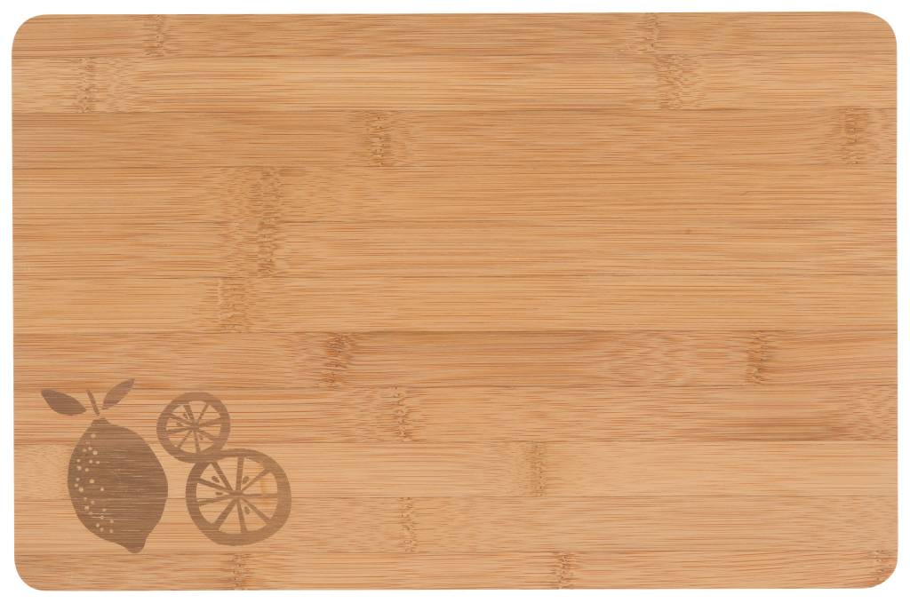 Danica/Now Cutting Board Engraved Lemon