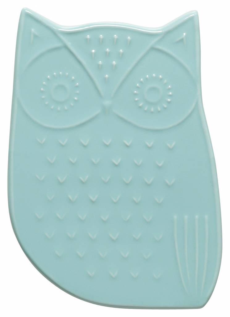 Danica/Now Ceramic Owl Trivet