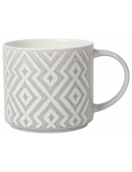 Danica/Now Gray Diamante Mug