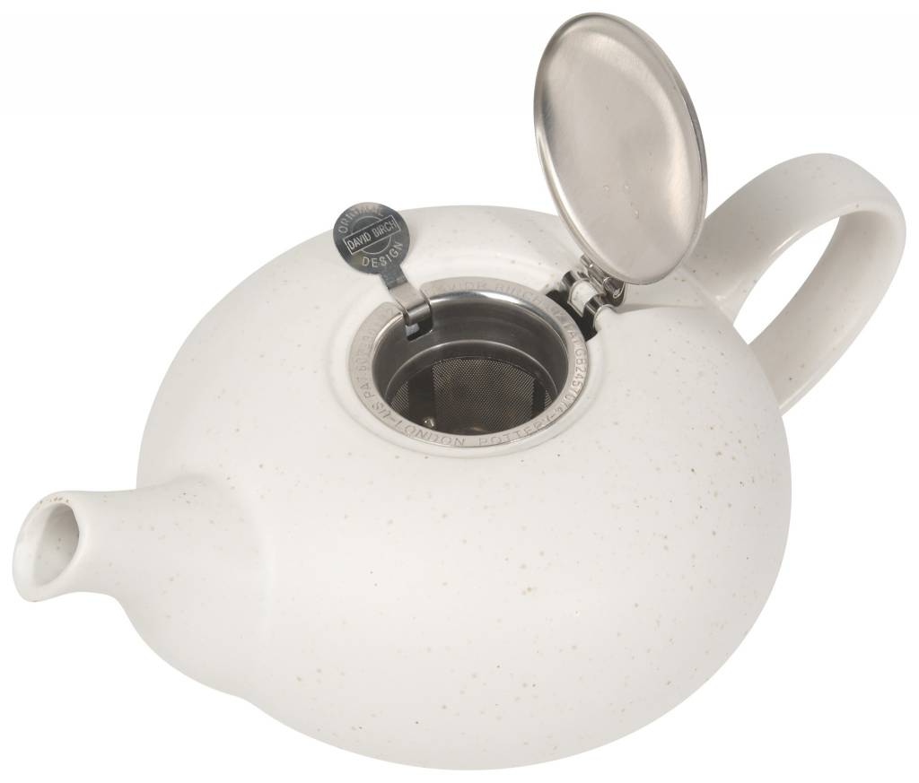 Danica/Now White Pebble Teapot