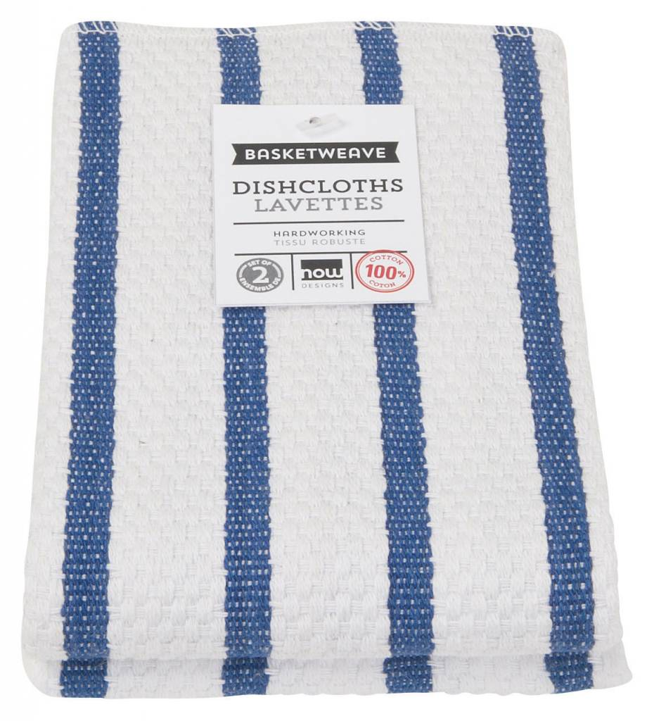 Danica/Now Pack of 2 dishclothes Indigo