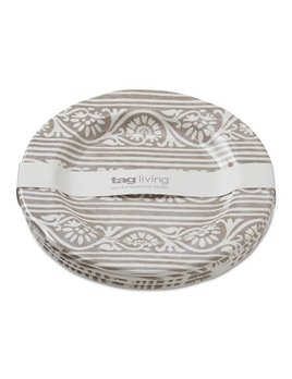Design Home Assiette Salade Grise