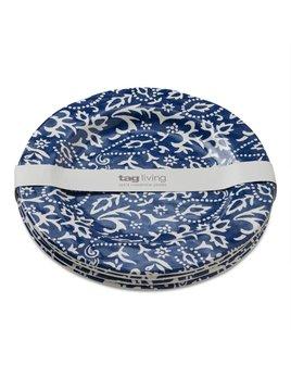 Design Home Grande Assiette Bleue