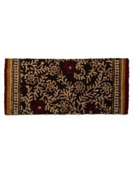 Design Home red flower print mat