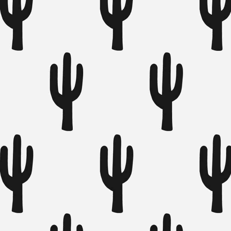 Feelin'it Decals Cactus Drawing