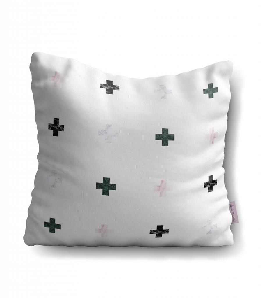 Fleur Maison Little Cross Pillow