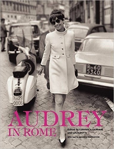 Audrey in Rome Book