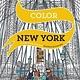 Livre à colorier New York